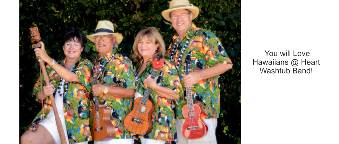Hawaiians at Heart Washtub Band
